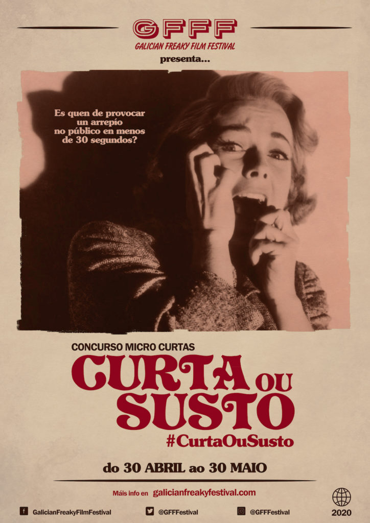 CONCURSO MICRO CURTAS CURTA OU SUSTO #CurtaOuSusto